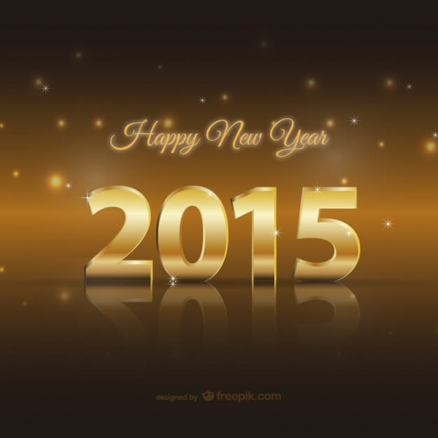 happy-2015-golden-card_23-2147499845